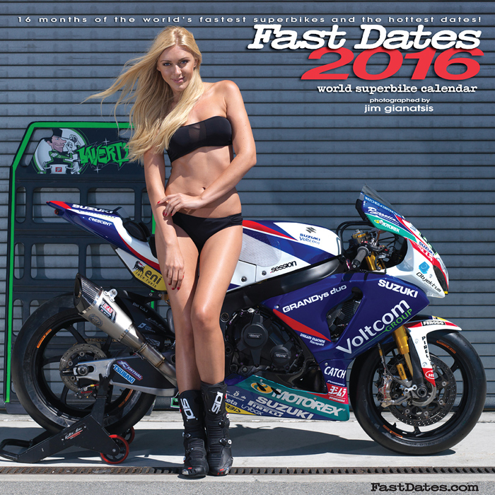 2016 Fast Dates Motorcycle Calendars - Speedville