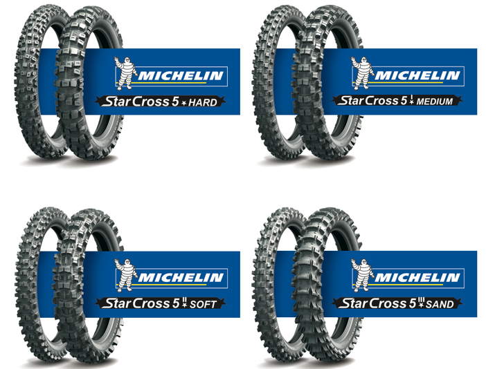 All Terrain Tires >> Michelin StarCross 5 Tires - Motorcycle & Powersports News