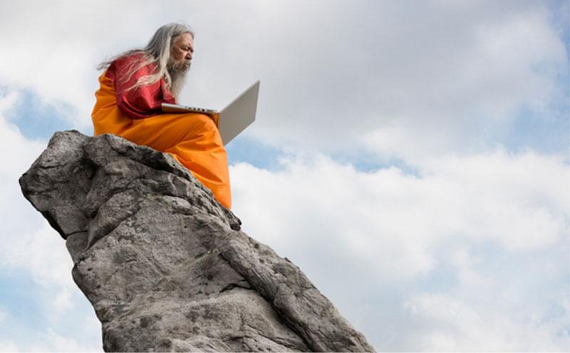 Semplicità nel Cammino . CC_zen-master-guru