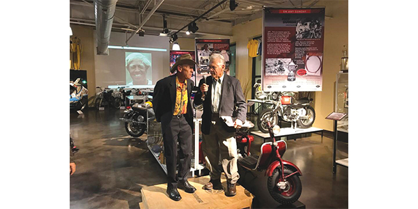 Malcolm Smith and Larry Huffman