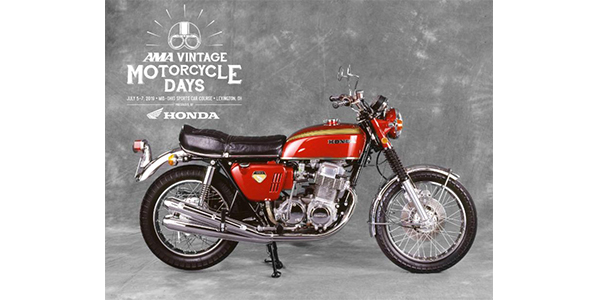 In Addition To Celebrating The 50th Anniversary Of The Groundbreaking  CB750, Which Honda Introduced In 1969, AMA Vintage Motorcycle Days Will  Acknowledge ...