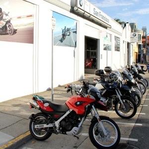 destination dealership: bmw motorcycles of san francisco