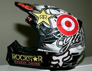 Ryan Dungey autographed helmet up for auction